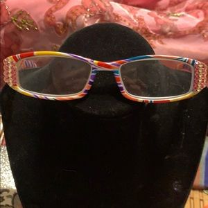 Accessories - 1.75 Reading Glasses w/Rhinestones *Case*New
